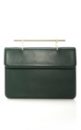 Memento Mori Leather Clutch by M2MALLETIER Now Available on Moda Operandi