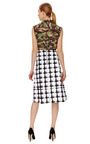 Caviar Checkered Skirt by MARNI Now Available on Moda Operandi