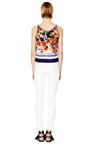 Arvia Med Crepe De Chine Vest by MOTHER OF PEARL Now Available on Moda Operandi