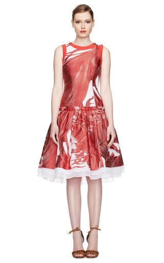 Drop Waisted Crinoline Cocktail Dress by PRABAL GURUNG Now Available on Moda Operandi