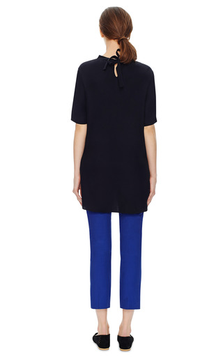 Wing Print A Line T Shirt Blouse by PRABAL GURUNG Now Available on Moda Operandi