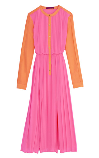 Medium rachel roy pink pleated dress