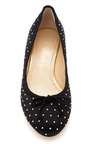 Black Darcy Flat by CHARLOTTE OLYMPIA for Preorder on Moda Operandi