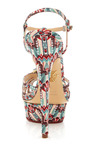 Multi Deco Leading Lady Sandal by CHARLOTTE OLYMPIA for Preorder on Moda Operandi