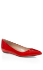 Godiva Patent Leather Flats by SERGIO ROSSI Now Available on Moda Operandi