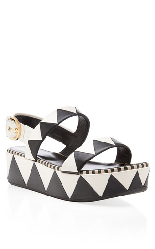 Zigzag Flatform by SERGIO ROSSI Now Available on Moda Operandi