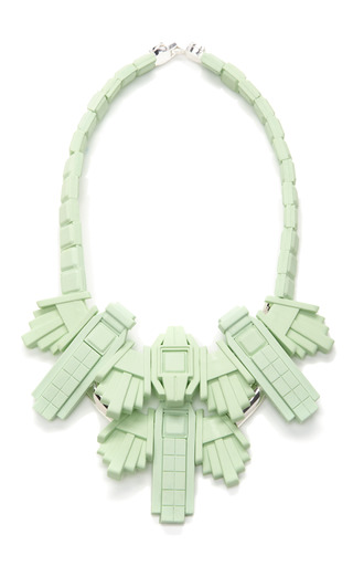 Medium ek thongprasert green fog green necklace