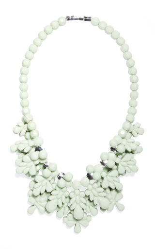 The Fog Green Charleston Necklace by EK THONGPRASERT Now Available on Moda Operandi