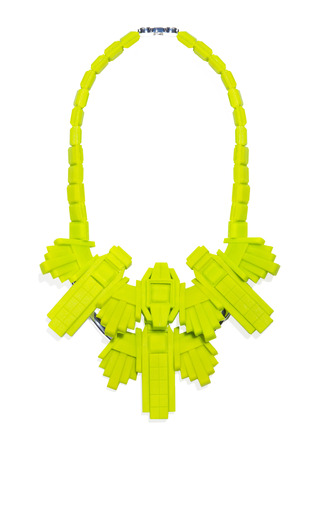 Chrysler Necklace by EK THONGPRASERT Now Available on Moda Operandi