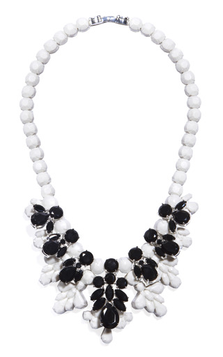 Medium ek thongprasert black greta garbo necklace