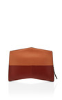 Natural Two Tone Geometric Clutch by NARCISO RODRIGUEZ Now Available on Moda Operandi