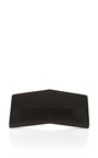 Black Monotone Geometric Long Clutch by NARCISO RODRIGUEZ Now Available on Moda Operandi