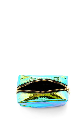 Glossy Film Cosmetic Pouch by ZILLA Now Available on Moda Operandi