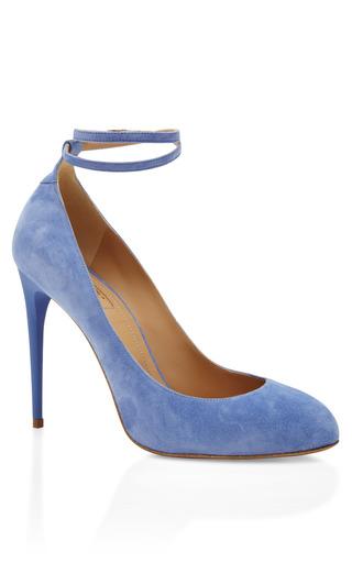 Medium aquazzura blue blue daiquiri pump 2