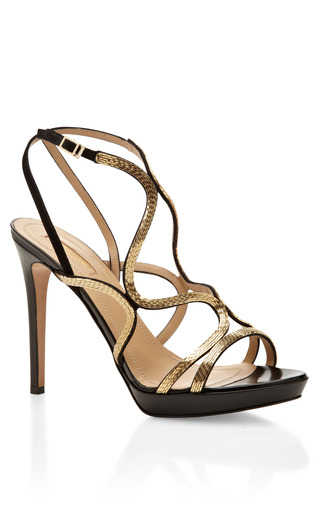 Medium aquazzura gold martini gold sandal