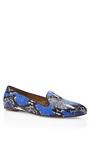 Blue Serpente Slippers by AQUAZZURA Now Available on Moda Operandi