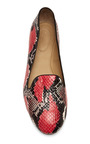 Red Serpente Slippers by AQUAZZURA Now Available on Moda Operandi
