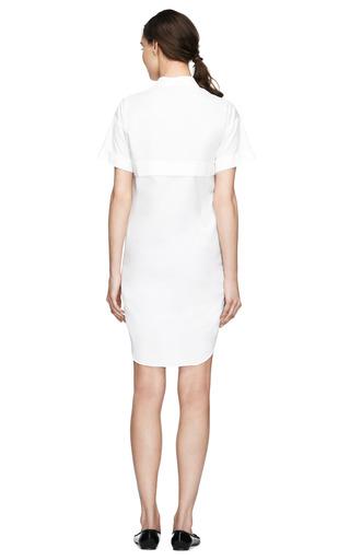 Short Sleeve Poplin Shirtdress by CéDRIC CHARLIER Now Available on Moda Operandi
