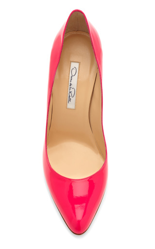 Pink Gretchen Pump by OSCAR DE LA RENTA Now Available on Moda Operandi
