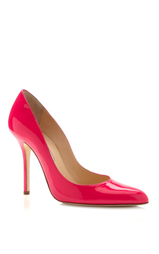 Medium oscar de la renta pink pink gretchen pump