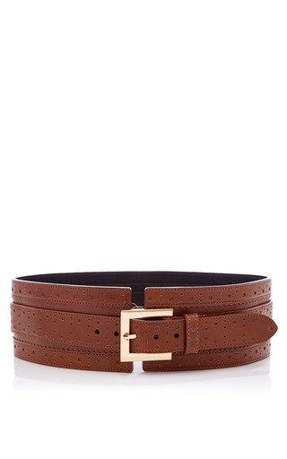 Medium oscar de la renta cognac belt