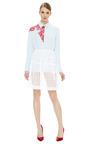White Open Dot Skirt by SIMONE ROCHA Now Available on Moda Operandi