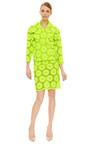 Green Big Daisy Jacket by SIMONE ROCHA Now Available on Moda Operandi
