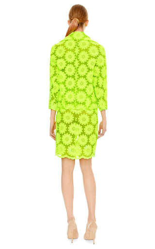 Green Big Daisy Jacket by SIMONE ROCHA Now Available on Moda Operandi