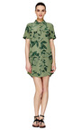 Remy Tropical Floral Printed Utility Dress by EQUIPMENT Now Available on Moda Operandi