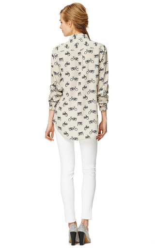 Easy Rider Signature Blouse by EQUIPMENT Now Available on Moda Operandi