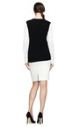 Shane Two Tone Cashmere Sweater by EQUIPMENT Now Available on Moda Operandi