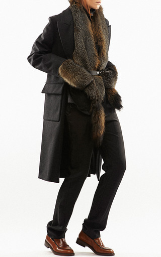 Grey Fox Stole by MARNI for Preorder on Moda Operandi