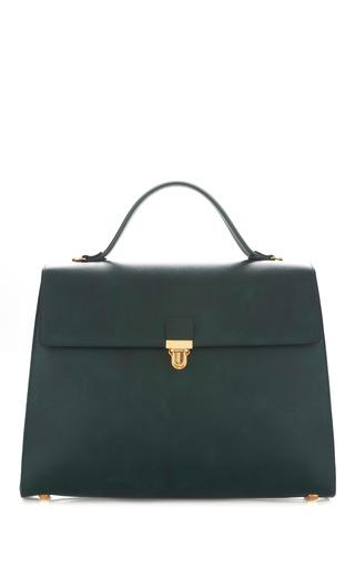 Medium marni green ecopelle handbag