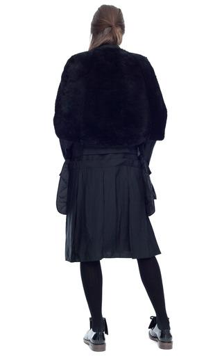 Merinos Velour Lana Alta Shearling Cape by MARNI for Preorder on Moda Operandi
