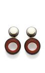 Hoop Resin Earrings by MARNI for Preorder on Moda Operandi