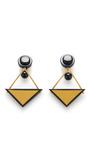 Triangle Resin Earrings by MARNI for Preorder on Moda Operandi