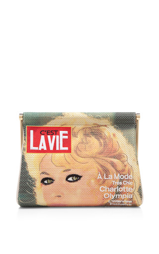 C'est La Vie Handbag by CHARLOTTE OLYMPIA Now Available on Moda Operandi