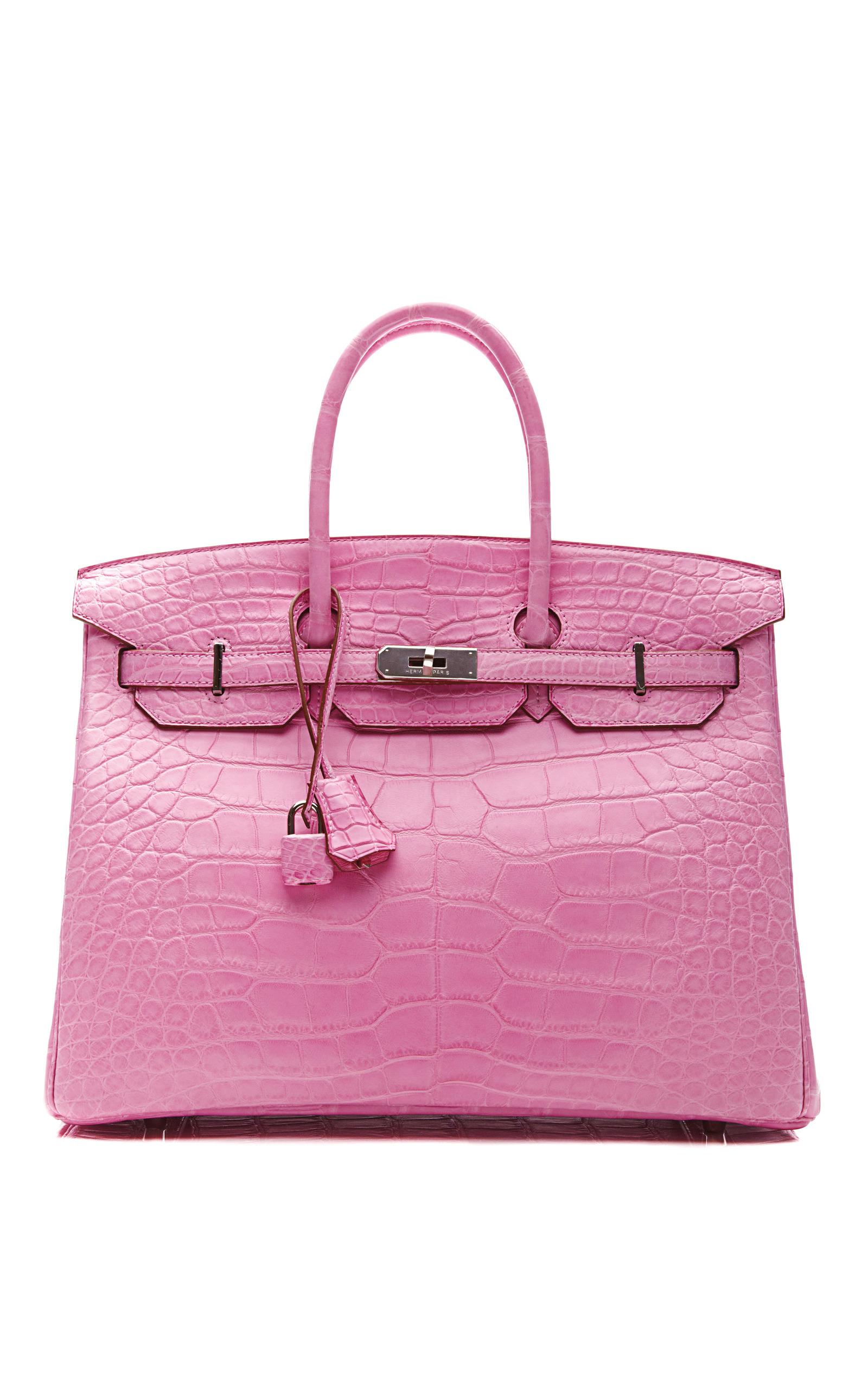 ec969a0bc523 Hermes Vintage35Cm Matte 5P Bubblegum Pink Alligator Birkin. CLOSE. Loading