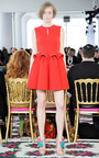 Sleeveless Sculpted Waist Dress by DELPOZO for Preorder on Moda Operandi