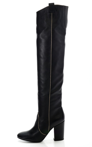 Medium laurence dacade black silas over the knee boot 4