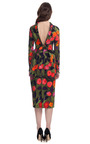 Painted Tulip Dress by DELPOZO for Preorder on Moda Operandi