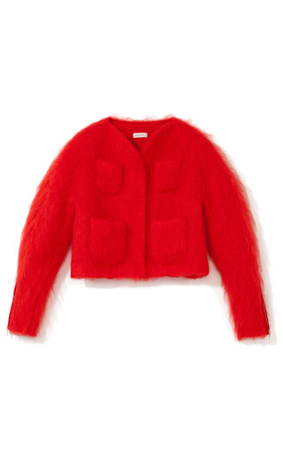 Mohair Jacket by DELPOZO for Preorder on Moda Operandi