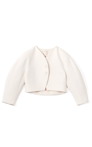 Cropped Egg Jacket by DELPOZO for Preorder on Moda Operandi