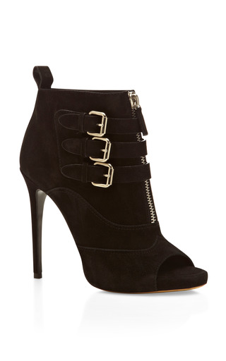 Medium tabitha simmons black black eva high heeled bootie
