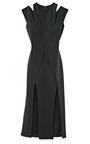 4 Ply Silk Crepe Dress by CUSHNIE ET OCHS for Preorder on Moda Operandi