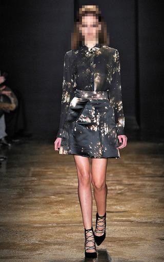 Duchess Satin Skirt by CUSHNIE ET OCHS for Preorder on Moda Operandi