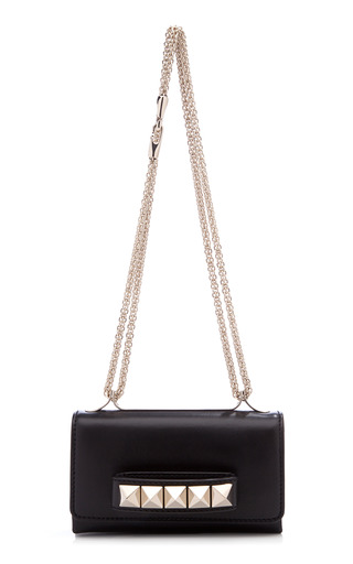 Medium valentino black va va voom small flap bag