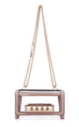 Platino Va Va Voom Small Flap Bag by VALENTINO Now Available on Moda Operandi