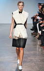 Sleeveless Cut Out Collar Dress by THAKOON for Preorder on Moda Operandi