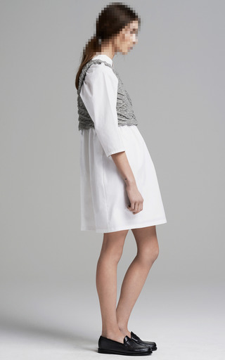 Poplin Layered Dress by THAKOON ADDITION for Preorder on Moda Operandi